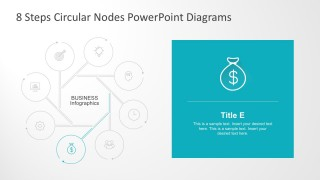 Editable Circular Nodal PowerPoint Diagrams