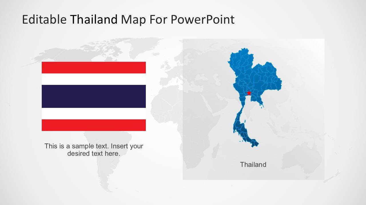 Thailand PowerPoitn Template