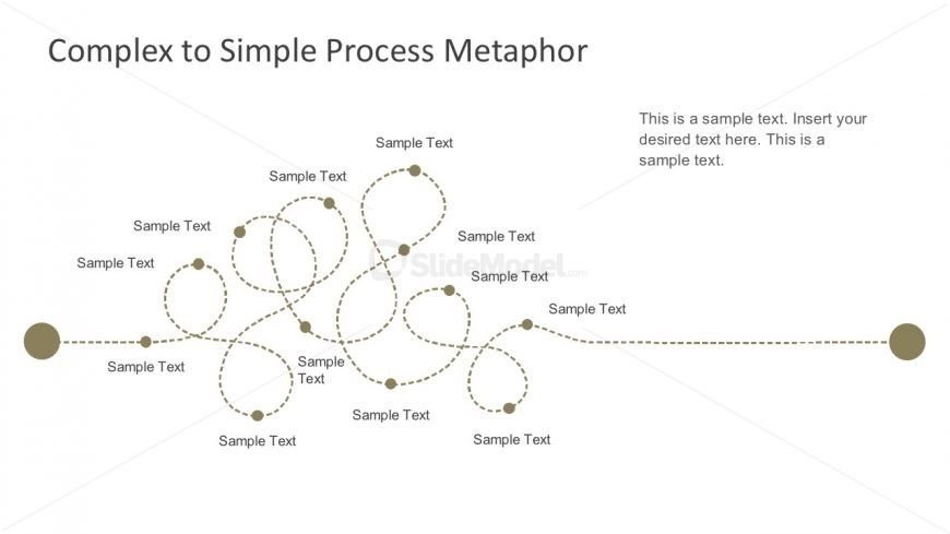 Simple Process Map Layout Diagrams