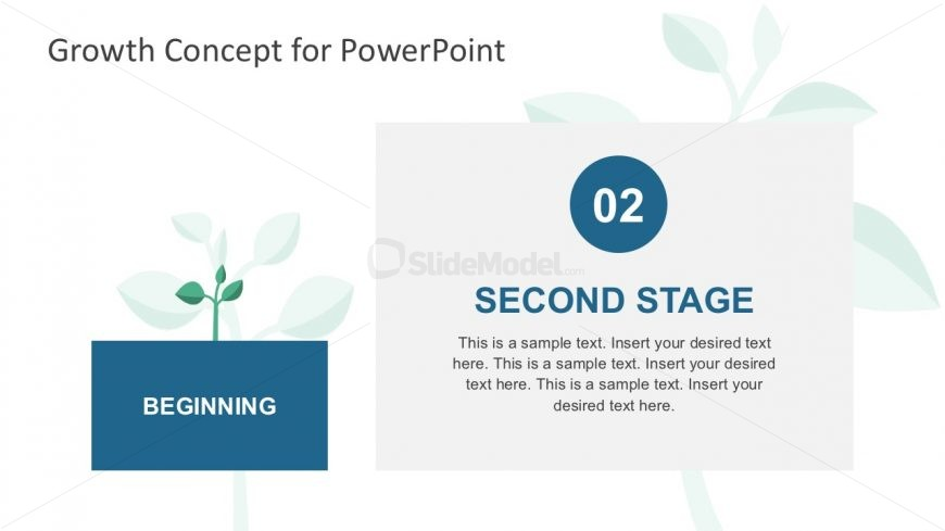 Tree Metaphor Slides PowerPoint Template