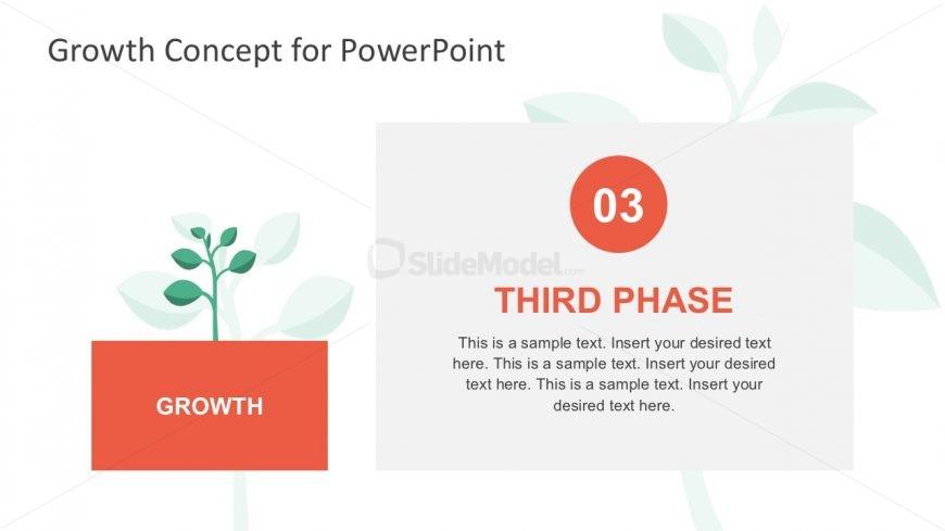 Business Growth Tree Diagram Metaphor