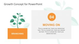 Growth Metaphor PowerPoint Template