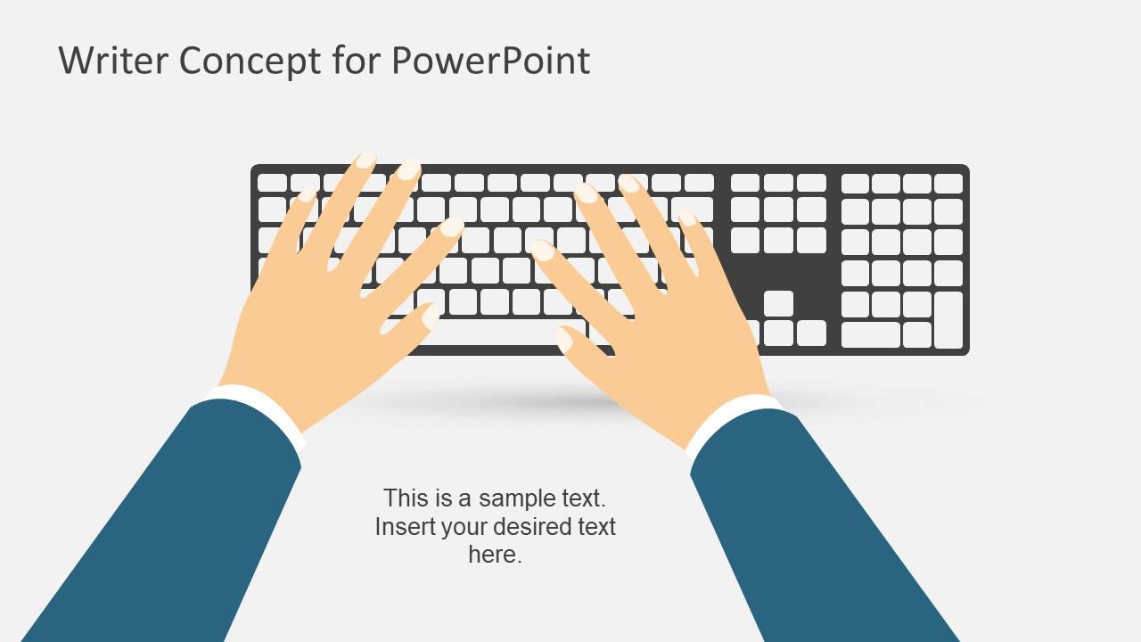 Keyboard Illustration Metaphor Presentation