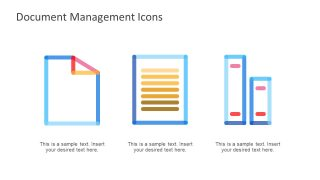 Document Management PowerPoint Icons
