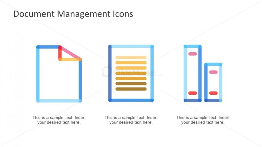 PowerPoint Line Shape Icons