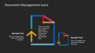 Background Black Line Shape PowerPoint