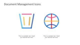 File Management Icons Presentation