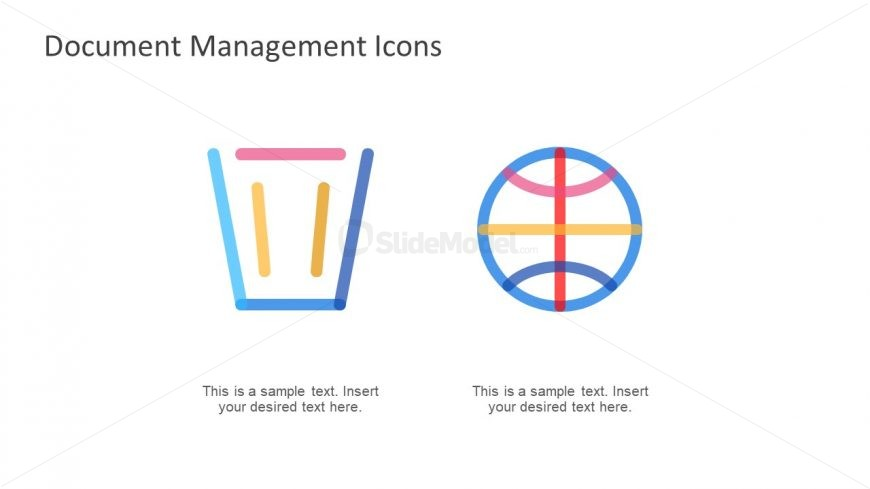 File Management Icons Presentation