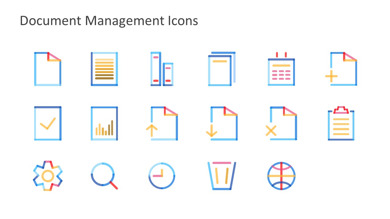 Quick Access Slide of File Icons