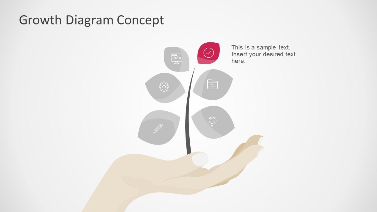 6 Segment Diagram Slide Icons