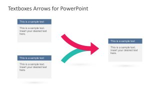 Arrow Vectors PowerPoint Slides