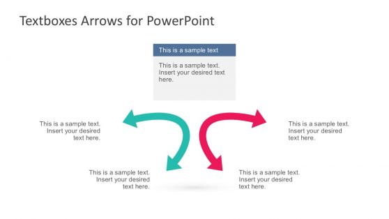 2 Arrow Template Graphic Slides