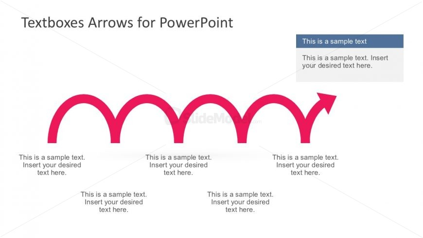 Creative Arrow Vectors with 5 Steps
