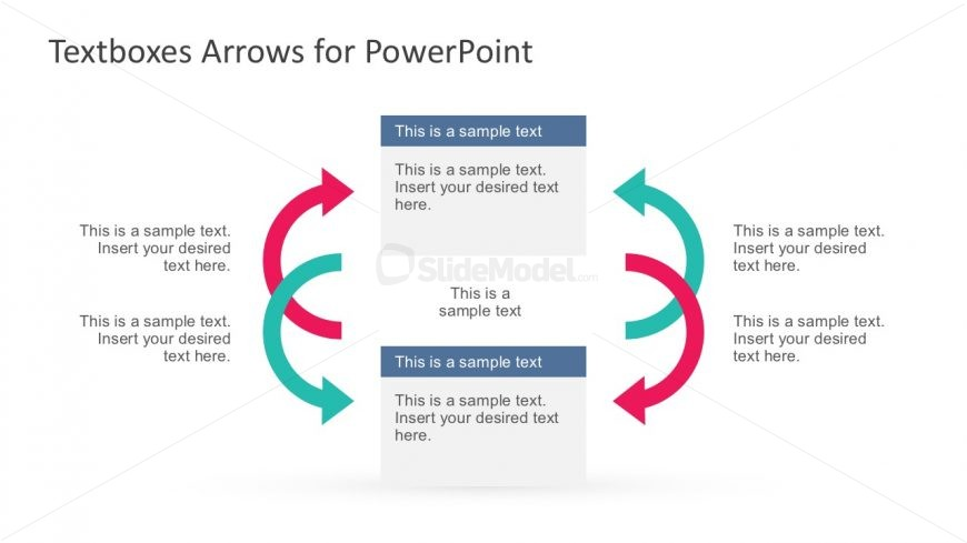 Arrow Shapes Diagram PowerPoint