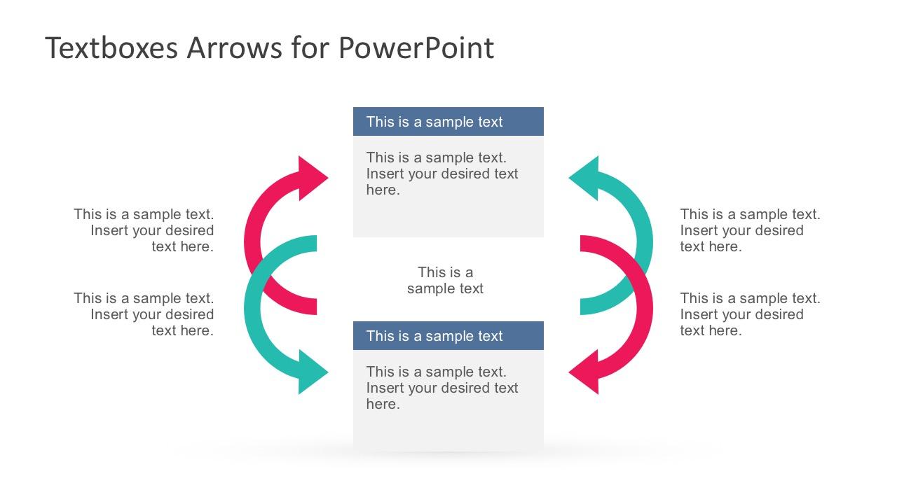 Arrow Shapes Diagram PowerPoint