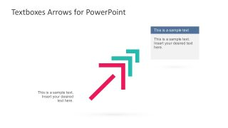 Editable Textboxes With Arrows For PowerPoint