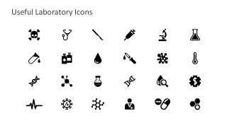 Medical Science Shapes and Useful Icons