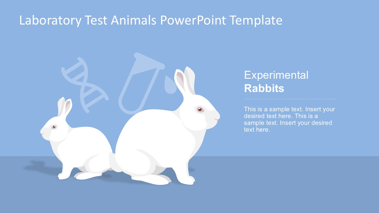 laboratory test animals powerpoint template slidemodel