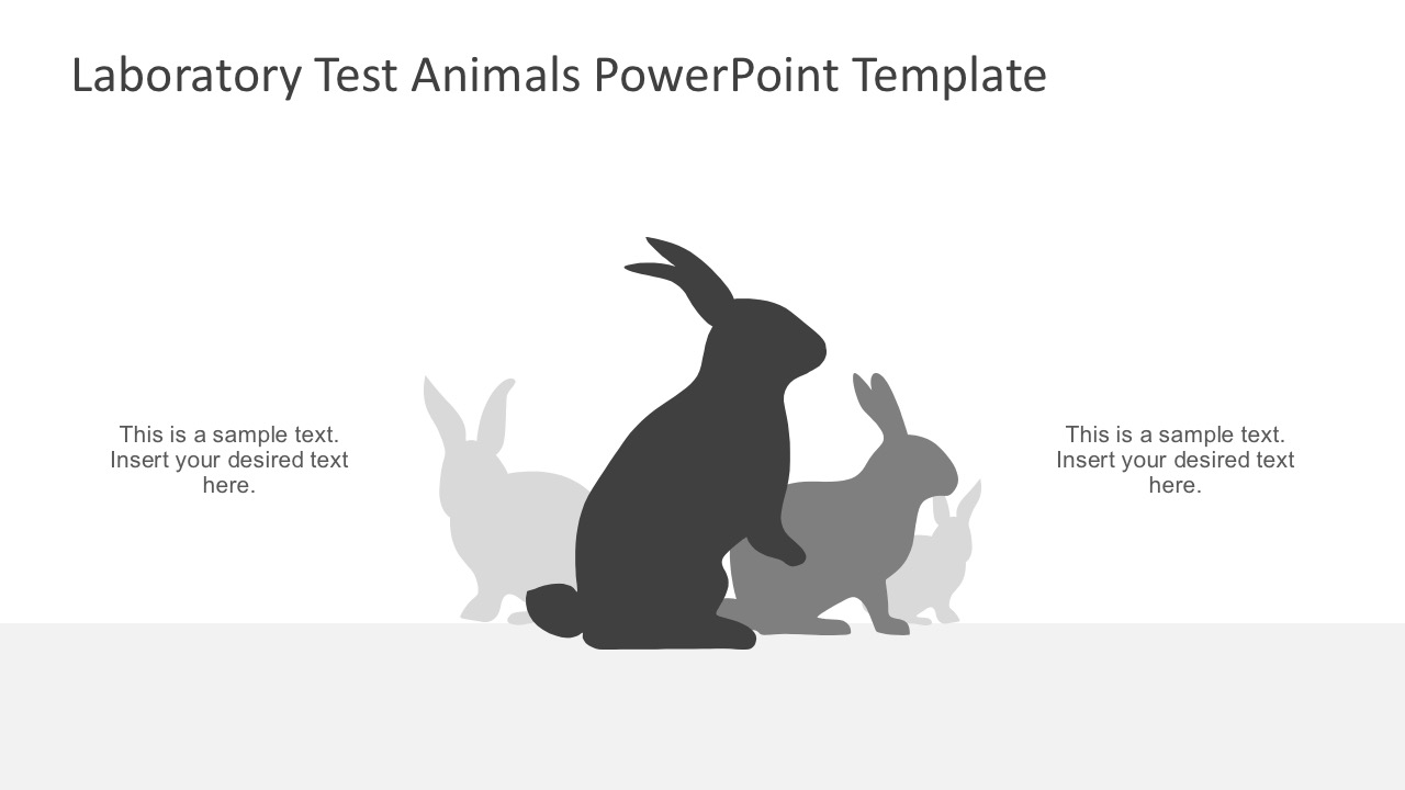 Laboratory test animals powerpoint template slidemodel laboratory test animals powerpoint slides toneelgroepblik Choice Image