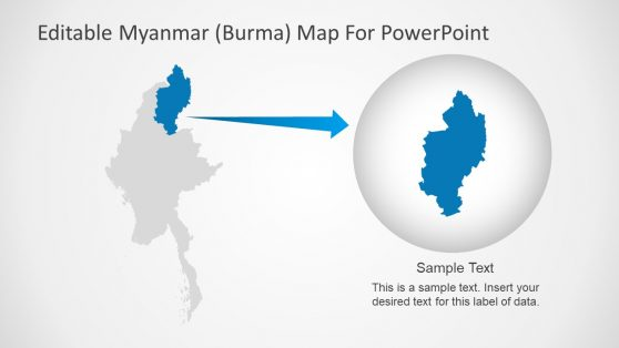 Highlight State in Editable Map of PowerPoint