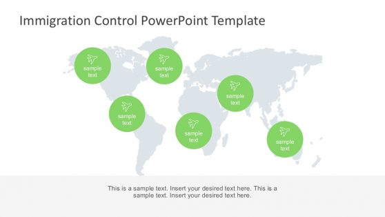 Geolocation PowerPoint Infographics