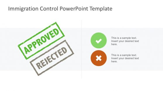Visa Processing PowerPoint Template