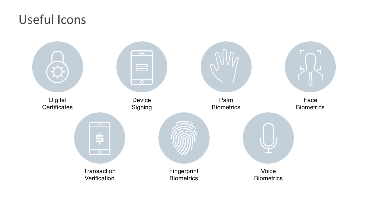 Useful Icons for PowerPoint
