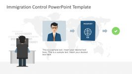 Passport Authentication PowerPoint Template