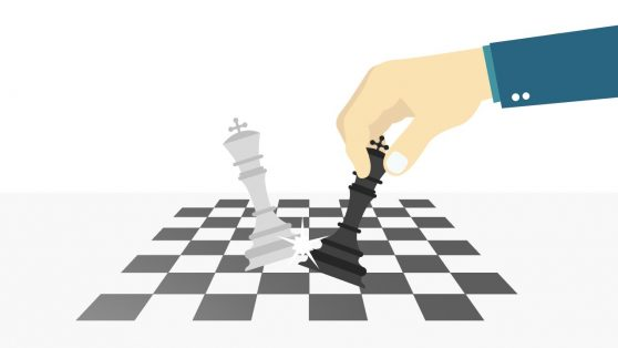 Chess Game Tactics White Capture