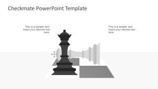 Checkmate Metaphor Concept Slide