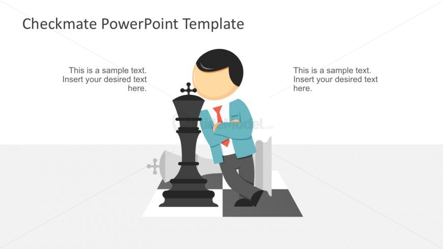 Chess Template PowerPoint Slide Designs