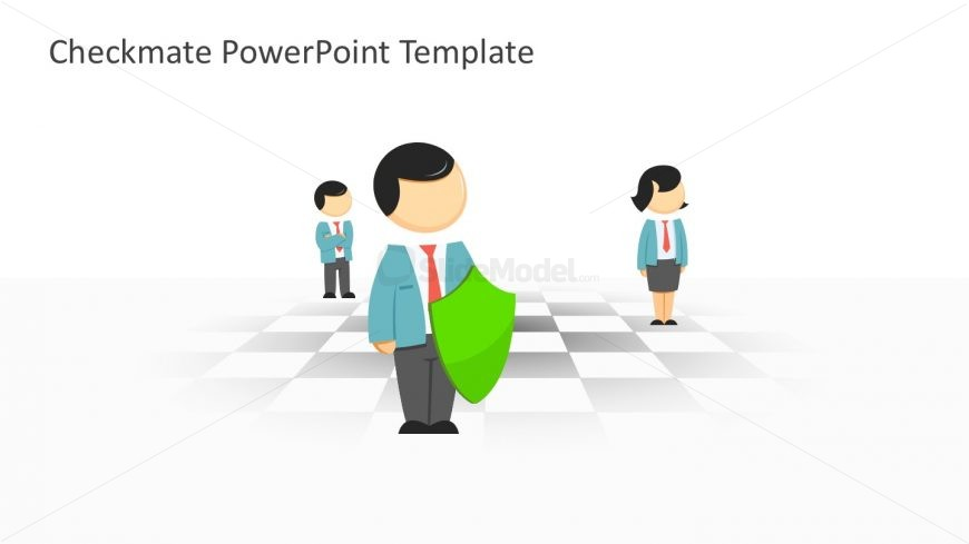 Best Chess Template in PowerPoint with 3D Characters