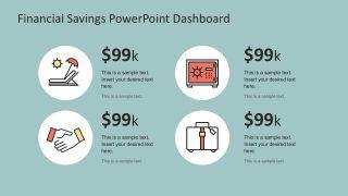 Creative Savings Finance Icon Graphics
