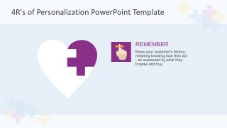 4R's of Personalization PowerPoint Template