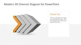 Chevron Diagram Editable PowerPoint Templates