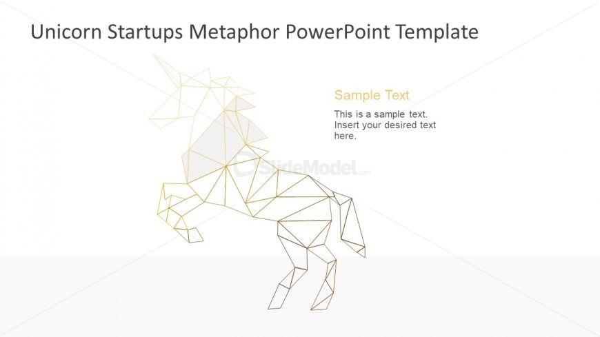 Template of Geometric Unicorn Metaphor