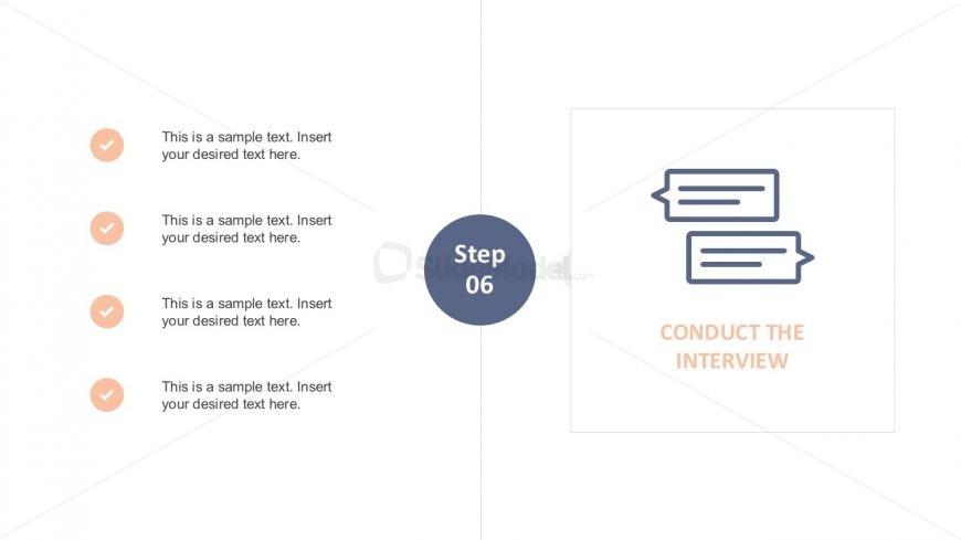 Interview Checklist Presentation Template