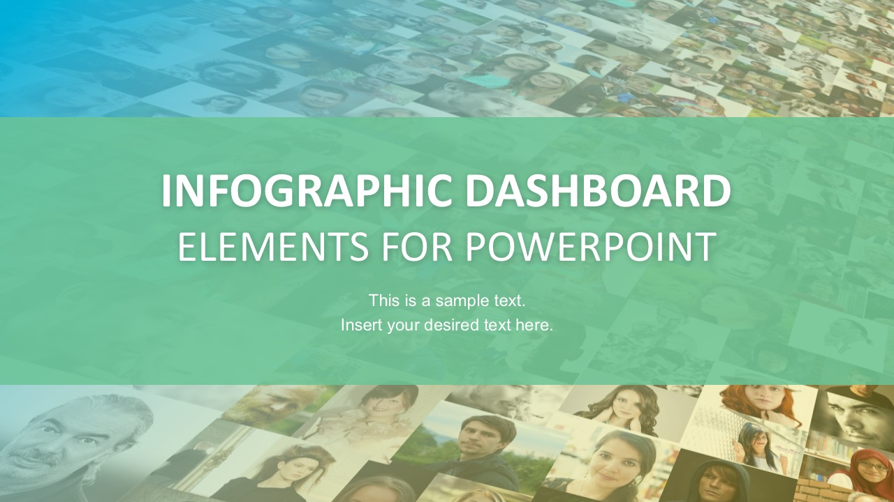 PowerPoint Infographic Dashboard Slides