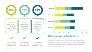 Infographic Dashboard Elements PowerPoint Template