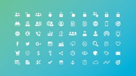 Useful PowerPoint Icons, Dashboard Elements