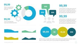 Useful Infographics Data Charts for PowerPoint