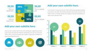 SmartArt PowerPoint Infographic Dashborads