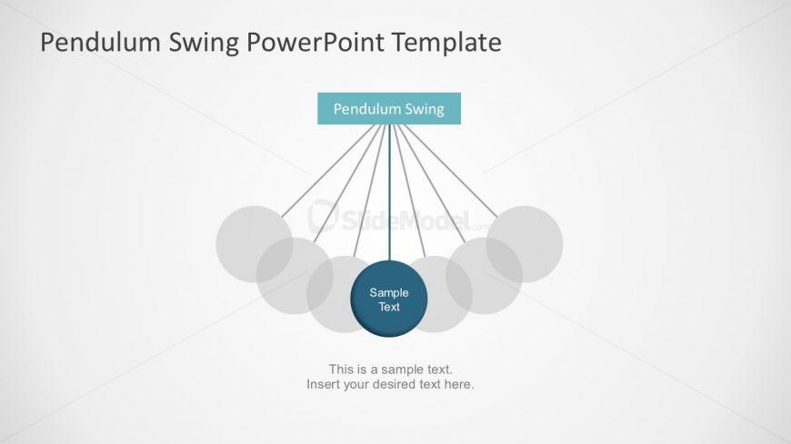 Pendulum Clock Diagram PowerPoint
