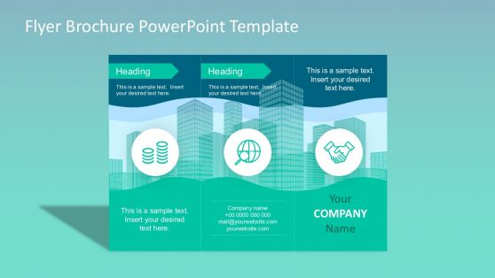 flyer powerpoint templates, Modern powerpoint