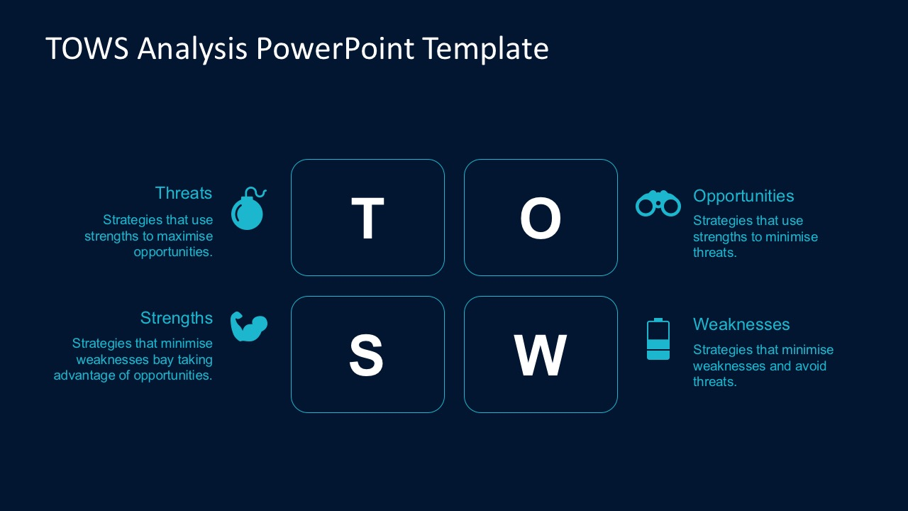 tows analysis powerpoint template
