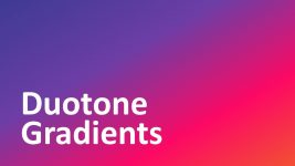 Bold Duotone Color PowerPoint