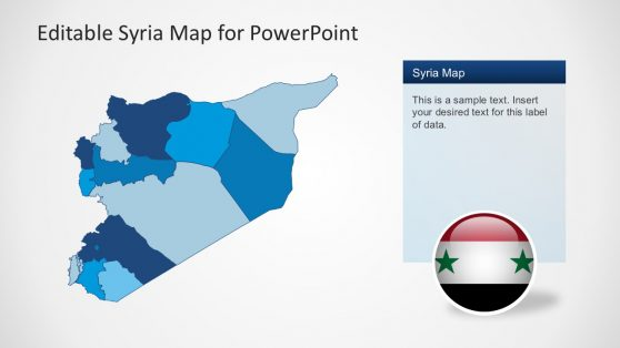 PowerPoint Map Syria