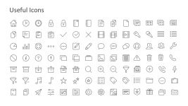 Useful Icons PowerPoint Slides