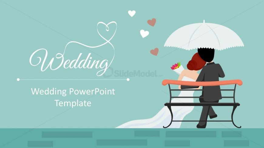 Wedding powerpoint templates slidemodel editable wedding slides template toneelgroepblik Images