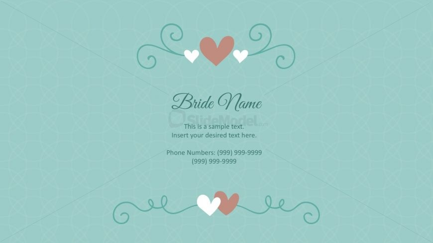 wedding cards powerpoint templates - slidemodel, Powerpoint templates